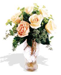 Bingöl Gölüm Çiçek çiçek siparişi sitesi  6 adet sari gül ve cam vazo
