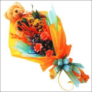 ayicik gül ve kir çiçekleri   Bingöl Gölüm Çiçek çiçekçi mağazası