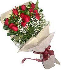 11 adet kirmizi güllerden özel buket  Bingöl Gölüm Çiçek internetten çiçek siparişi