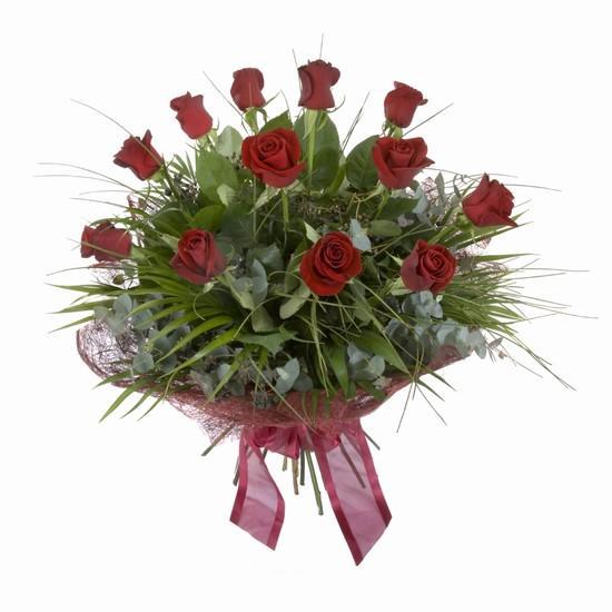 Etkileyici buket 11 adet kirmizi gül buketi  Bingöl Gölüm Çiçek internetten çiçek satışı