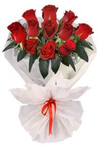 11 adet gül buketi  Bingöl Gölüm Çiçek internetten çiçek siparişi  kirmizi gül