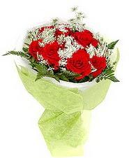 Bingöl Gölüm Çiçek çiçek , çiçekçi , çiçekçilik  7 adet kirmizi gül buketi tanzimi