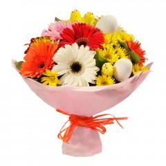 Karışık mevsim buketi Mevsimsel çiçek  Bingöl Gölüm Çiçek internetten çiçek siparişi