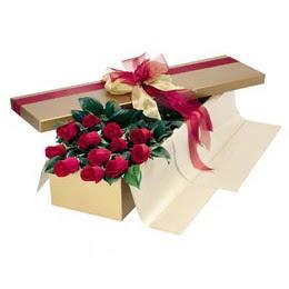 Bingöl Gölüm Çiçek cicekciler , cicek siparisi  10 adet kutu özel kutu