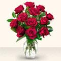 Bingöl Gölüm Çiçek çiçek yolla  10 adet gül cam yada mika vazo da