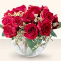 Bingöl Gölüm Çiçek çiçek online çiçek siparişi  mika yada cam içerisinde 10 gül - sevenler için ideal seçim -