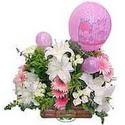 balon ve çiçeklerle tanzim  Bingöl Gölüm Çiçek internetten çiçek satışı