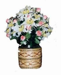 yapay karisik çiçek sepeti   Bingöl Gölüm Çiçek çiçek servisi , çiçekçi adresleri