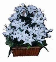 yapay karisik çiçek sepeti   Bingöl Gölüm Çiçek online çiçek gönderme sipariş