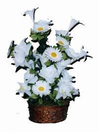 yapay karisik çiçek sepeti  Bingöl Gölüm Çiçek çiçek siparişi vermek