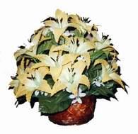 yapay karisik çiçek sepeti   Bingöl Gölüm Çiçek çiçek siparişi sitesi