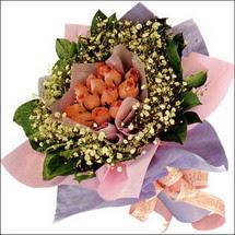 11  adet  gül ve   elyaflar   Bingöl Gölüm Çiçek çiçekçi mağazası