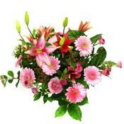 lilyum ve gerbera çiçekleri - çiçek seçimi -  Bingöl Gölüm Çiçek çiçek gönderme