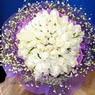 71 adet beyaz gül buketi   Bingöl Gölüm Çiçek çiçek , çiçekçi , çiçekçilik