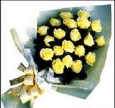 sari güllerden sade buket  Bingöl Gölüm Çiçek çiçek , çiçekçi , çiçekçilik