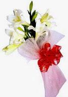Bingöl Gölüm Çiçek çiçek , çiçekçi , çiçekçilik  ince vazoda gerbera ve ayi