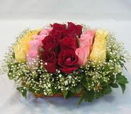 15 adet reprenkli gül sepeti   Bingöl Gölüm Çiçek çiçek yolla
