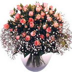büyük cam fanusta güller   Bingöl Gölüm Çiçek çiçek yolla