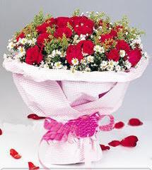 Bingöl Gölüm Çiçek internetten çiçek satışı  12 ADET KIRMIZI GÜL BUKETI