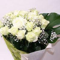 Bingöl Gölüm Çiçek hediye çiçek yolla  11 adet sade beyaz gül buketi