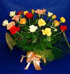Bingöl Gölüm Çiçek hediye çiçek yolla  13 adet karisik renkli güller