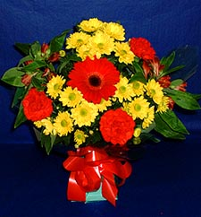 Bingöl Gölüm Çiçek ucuz çiçek gönder  sade hos orta boy karisik demet çiçek