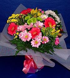 karisik sade mevsim demetligi   Bingöl Gölüm Çiçek 14 şubat sevgililer günü çiçek
