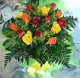 13 adet karisik gül buketi demeti   Bingöl Gölüm Çiçek uluslararası çiçek gönderme