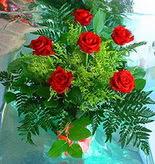 6 adet kirmizi gül buketi   Bingöl Gölüm Çiçek online çiçek gönderme sipariş