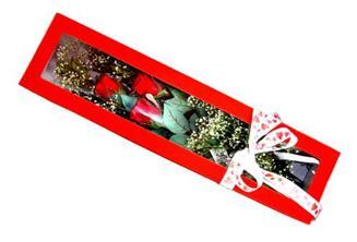 Bingöl Gölüm Çiçek hediye çiçek yolla  Kutuda 3 adet gül