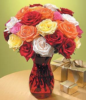 Bingöl Gölüm Çiçek anneler günü çiçek yolla  13 adet renkli gül
