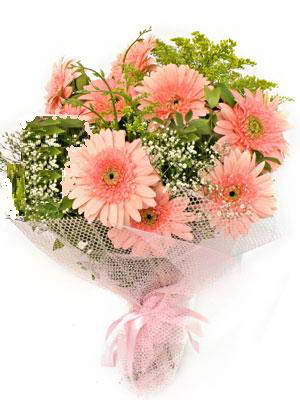 Bingöl Gölüm Çiçek çiçek satışı  11 adet gerbera çiçegi buketi