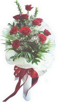 Bingöl Gölüm Çiçek hediye çiçek yolla  10 adet kirmizi gülden buket tanzimi özel anlara
