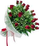 Bingöl Gölüm Çiçek internetten çiçek satışı  11 adet kirmizi gül buketi sade ve hos sevenler