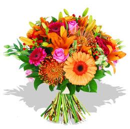 Bingöl Gölüm Çiçek çiçekçi telefonları  Karisik kir çiçeklerinden görsel demet