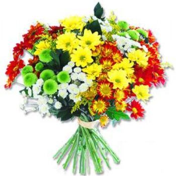 Kir çiçeklerinden buket modeli  Bingöl Gölüm Çiçek online çiçek gönderme sipariş