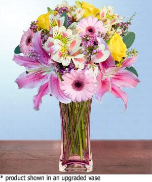Anneme hediye karisik cam mevsim demeti  Bingöl Gölüm Çiçek internetten çiçek siparişi