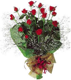 11 adet kirmizi gül buketi özel hediyelik  Bingöl Gölüm Çiçek çiçekçi mağazası
