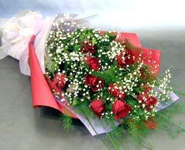 10 adet kirmizi gül çiçegi gönder  Bingöl Gölüm Çiçek anneler günü çiçek yolla