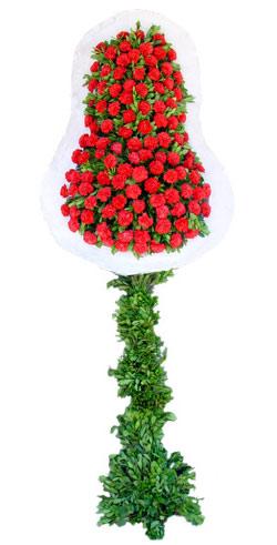 Dügün nikah açilis çiçekleri sepet modeli  Bingöl Gölüm Çiçek İnternetten çiçek siparişi