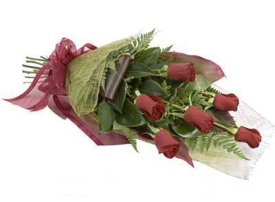 ucuz çiçek siparisi 6 adet kirmizi gül buket  Bingöl Gölüm Çiçek çiçek siparişi sitesi