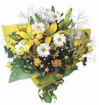 Bingöl Gölüm Çiçek ucuz çiçek gönder  Lilyum ve mevsim çiçekleri