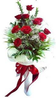 Bingöl Gölüm Çiçek ucuz çiçek gönder  10 adet kirmizi gül buketi demeti