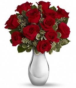 Bingöl Gölüm Çiçek çiçek siparişi vermek   vazo içerisinde 11 adet kırmızı gül tanzimi