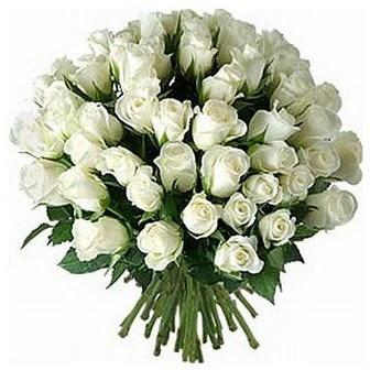 Bingöl Gölüm Çiçek çiçek servisi , çiçekçi adresleri  33 adet beyaz gül buketi