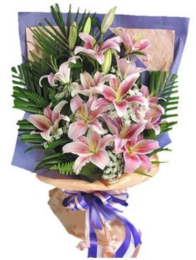 7 dal kazablankadan görsel buket  Bingöl Gölüm Çiçek kaliteli taze ve ucuz çiçekler