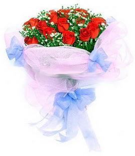 Bingöl Gölüm Çiçek çiçek siparişi sitesi  11 adet kırmızı güllerden buket modeli