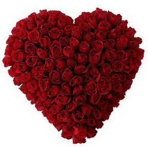 Bingöl Gölüm Çiçek çiçekçi mağazası  muhteşem kırmızı güllerden kalp çiçeği