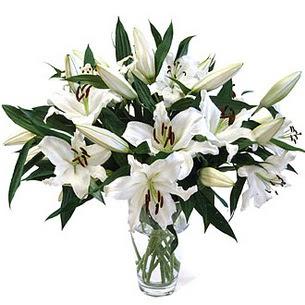 Bingöl Gölüm Çiçek çiçekçi telefonları  3 dal görsel casablanca vazo tanzimi