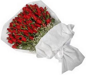 Bingöl Gölüm Çiçek İnternetten çiçek siparişi  51 adet kırmızı gül buket çiçeği